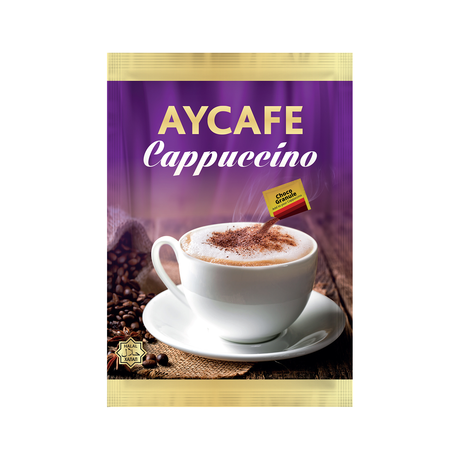 Aycafe Cappuccino (25gr) Instant Coffee In Sachets
