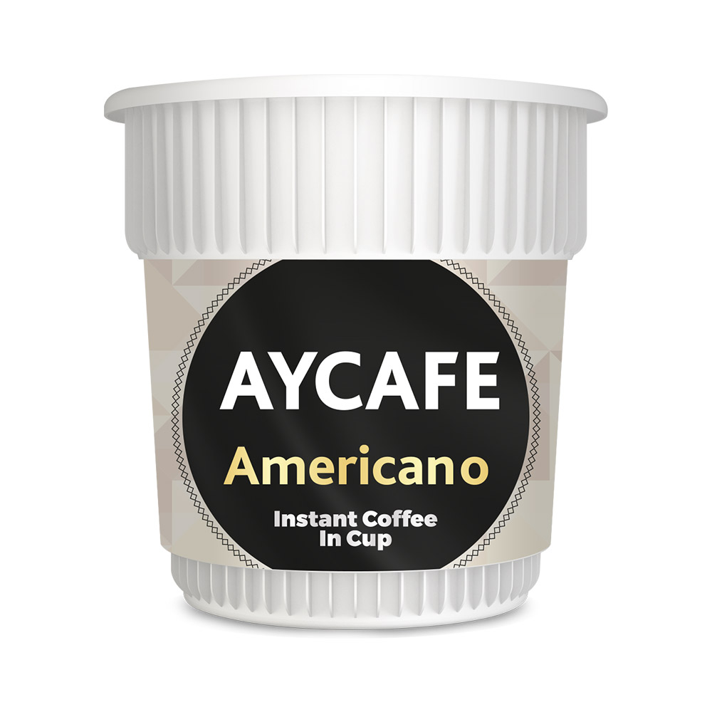 Aycafe Americano Instant Coffee In Cup