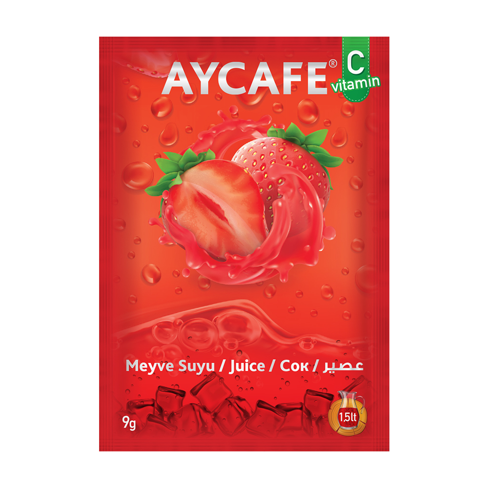 Aycafe Strawberry Flavoured Instant Drink
