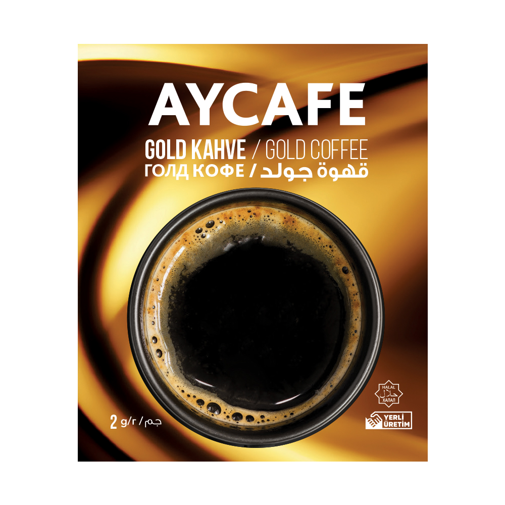 Aycafe Gold (2 gr) Instant Coffee In Sachets