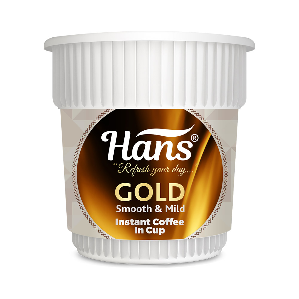 Hans Gold Instant Coffee In Cup