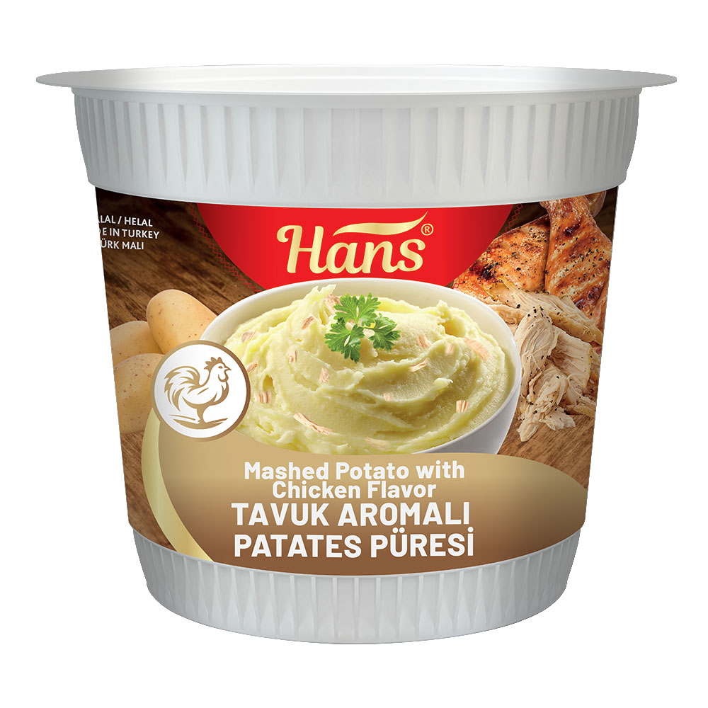 Mashed Potato with Chicken Flavor