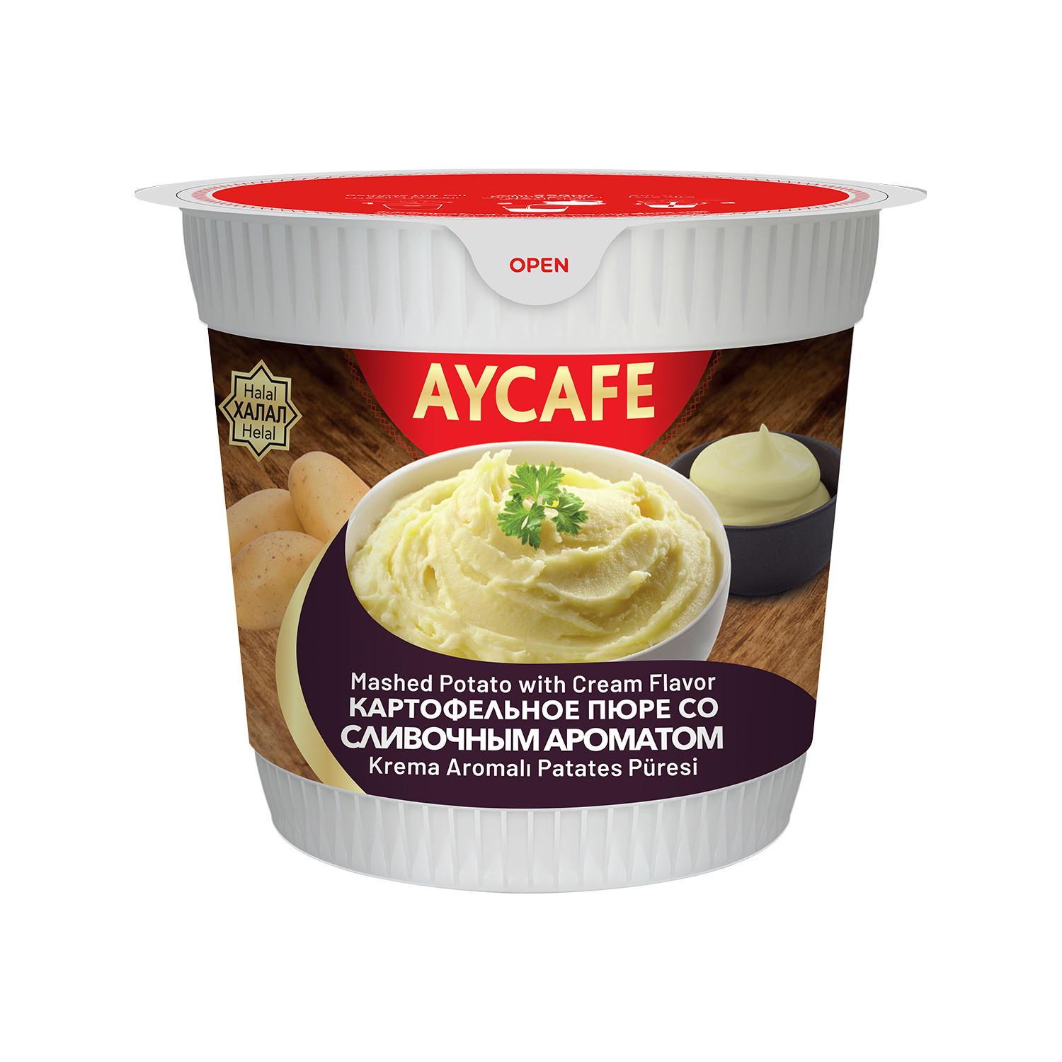 Aycafe Mashed Potato with Cream Flavor